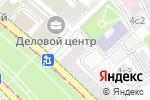 Схема проезда до компании КБ Интерпромбанк в Москве