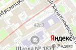 Схема проезда до компании А-Трейдинг в Москве