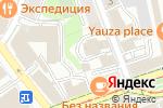 Схема проезда до компании Благолепие в Москве