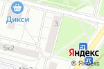 Схема проезда до компании Рисуют все в Москве