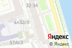 Схема проезда до компании Единое Время в Москве