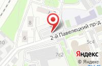 Схема проезда до компании МИК-Энерготехнология в Москве