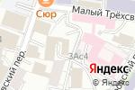 Схема проезда до компании Представительство Правительства Саратовской области при Правительстве РФ в Москве