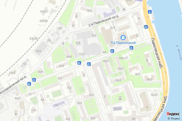 Ремонт телевизоров 3 й Павелецкий проезд на яндекс карте