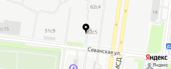 Reant Motors на карте Москвы