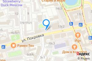 Однокомнатная квартира в Москве ул Покровка, 11