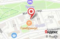 Схема проезда до компании ПР Импакт в Москве