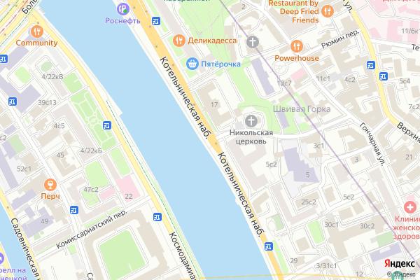 Ремонт телевизоров Котельническая набережная на яндекс карте