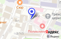 Схема проезда до компании ДИЗАЙН-СТУДИЯ МАРФА-СТУДИО в Москве