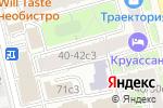 Схема проезда до компании КБ ИНВЕСТРАСТБАНК в Москве