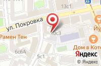 Схема проезда до компании Компания Электрофарфор в Москве