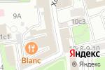 Схема проезда до компании We-agency в Москве