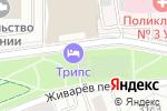 Схема проезда до компании Mollena в Москве