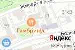 Схема проезда до компании Твой дом-2000 в Москве