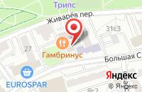 Схема проезда до компании Кронас в Москве