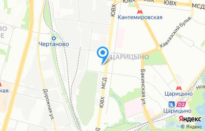 Местоположение на карте пункта техосмотра по адресу г Москва, ул Севанская, д 62 стр 4