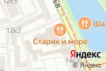 Схема проезда до компании Ilovebanket в Москве
