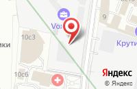 Схема проезда до компании Инжиниринговый Центр Строитель в Москве