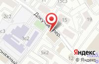 Схема проезда до компании Стройавангард в Москве