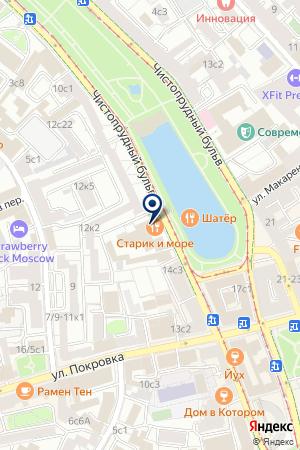 РЫБОЛОВНЫЙ КЛУБ РУСС на карте Москвы