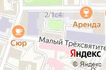 Схема проезда до компании Виват Консалт в Москве