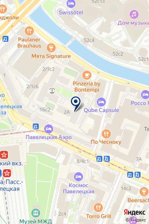 ПРЕДСТАВИТЕЛЬСТВО AXENS на карте Москвы