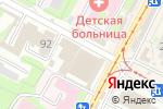 Схема проезда до компании Косметичка+ в Туле