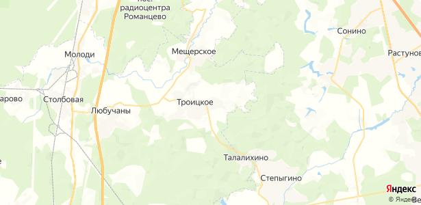 Антропово на карте