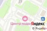 Схема проезда до компании Эвелина в Москве