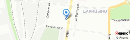 МЕБЕЛЬ-КЛАССИК на карте Москвы