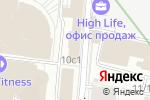 Схема проезда до компании Ion Geophysical в Москве