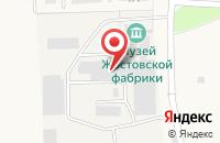 Схема проезда до компании Жостовская фабрика декоративной росписи в Жостово
