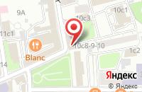 Схема проезда до компании Планета Регби в Москве