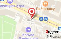 Схема проезда до компании Амикус Мед в Москве