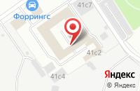 Схема проезда до компании Векос в Москве