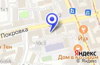Схема проезда до компании КБ РУСИЧ ЦЕНТР БАНК в Москве