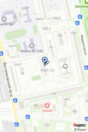 ДК ДРУЖБА на карте Москвы