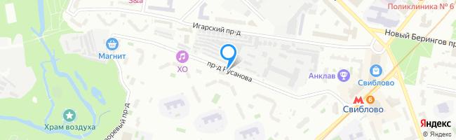 проезд Русанова