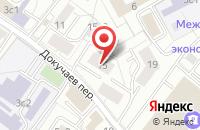 Схема проезда до компании Цветной Мир в Москве