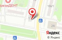 Схема проезда до компании Мадонна в Москве