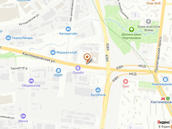 Остановка «Кантемировская ул., 59», Проектируемый проезд № 5159 (1008646) (Москва)