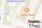 Схема проезда до компании Vivaldi Plaza в Москве