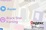 Схема проезда до компании BePrint в Москве
