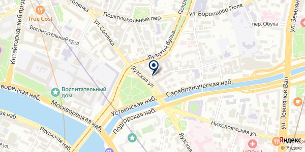 Staub Prinzip на карте Москве