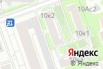 Схема проезда до компании Радиосити в Москве