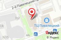 Схема проезда до компании Полиграник в Москве