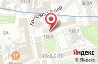 Схема проезда до компании Фома Центр в Москве