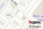Схема проезда до компании Gala Цветы в Москве