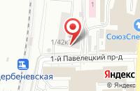 Схема проезда до компании ГорЗеленСтройИндустрия в Москве