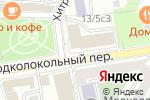 Схема проезда до компании Napmen Club в Москве